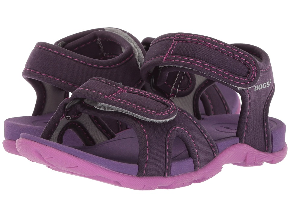 Bogs Kids - Whitefish Solid (Toddler/Little Kid) (Eggplant Multi) Girls Shoes