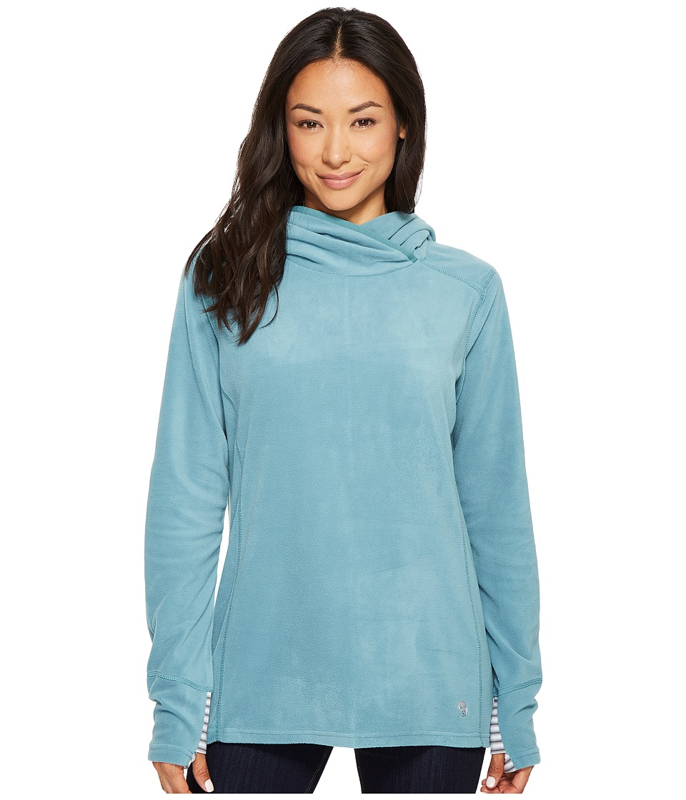 Mountain Hardwear - Microchill Lite Tunic (Lakeshore Blue) Womens Sweatshirt
