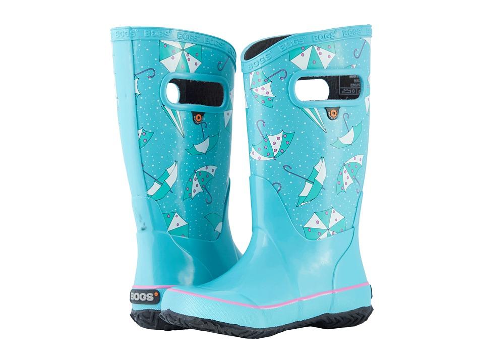 Bogs Kids - Rain Boot Umbrellas (Toddler/Little Kid/Big Kid) (Tuquoise Multi) Girls Shoes