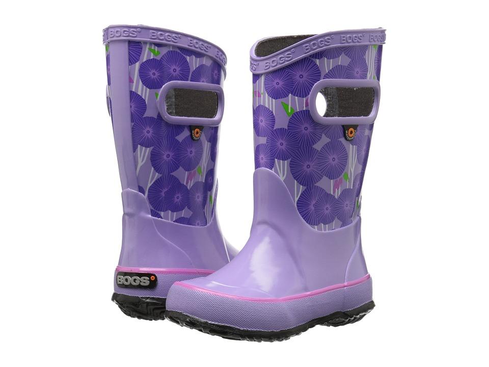 Image of Bogs Kids - Rain Boot Aster (Toddler/Little Kid/Big Kid) (Lavender Multi) Girls Shoes