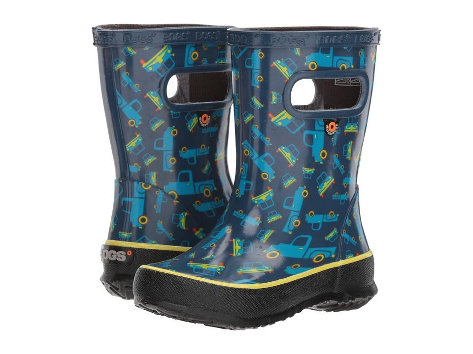 Bogs Kids - Skipper Trucks (Toddler/Little Kid) (Blue Multi) Boys Shoes