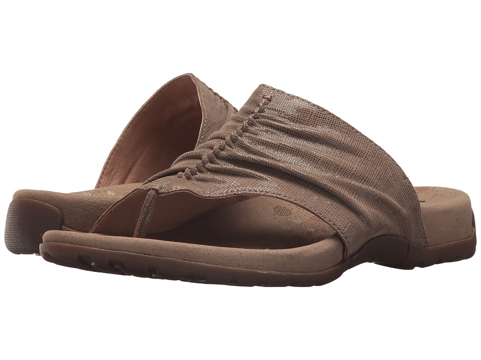 Taos Footwear Gift 2 (Taupe Printed Leather) Women's Shoes