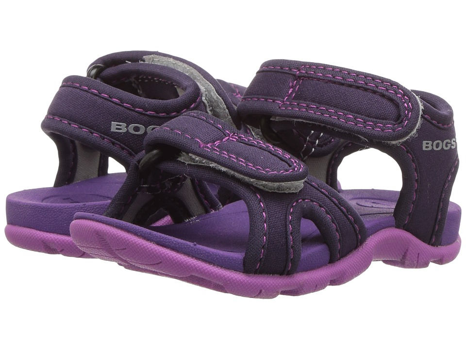 Bogs Kids - Whitefish Solid (Toddler) (Eggplant Multi) Girls Shoes
