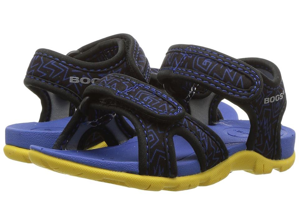 Bogs Kids - Whitefish 80s (Toddler) (Black Multi) Boys Shoes