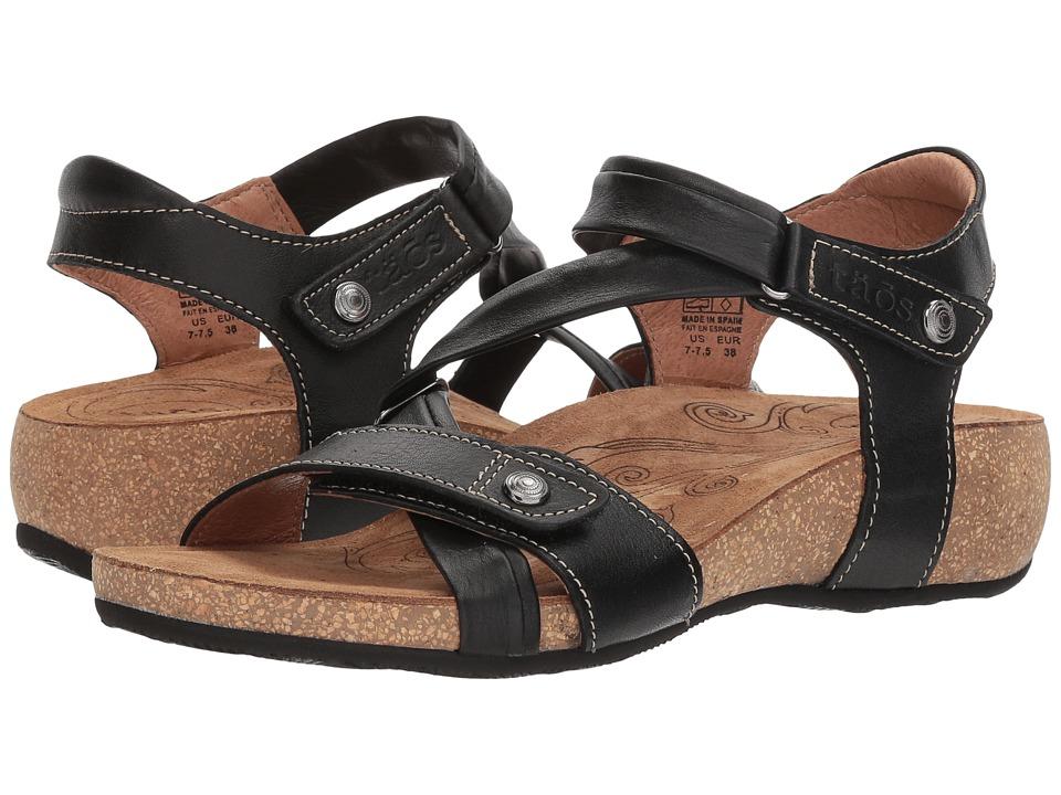 Taos Footwear Universe (Black) Women's Hook and Loop Shoes