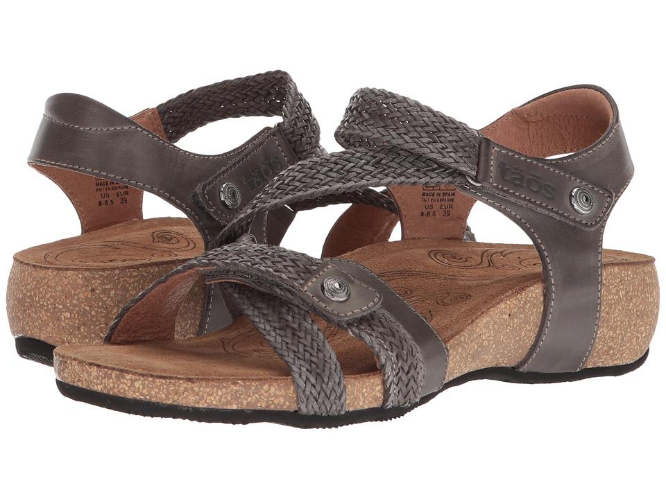 Taos Footwear Trulie (Dark Grey) Sandals
