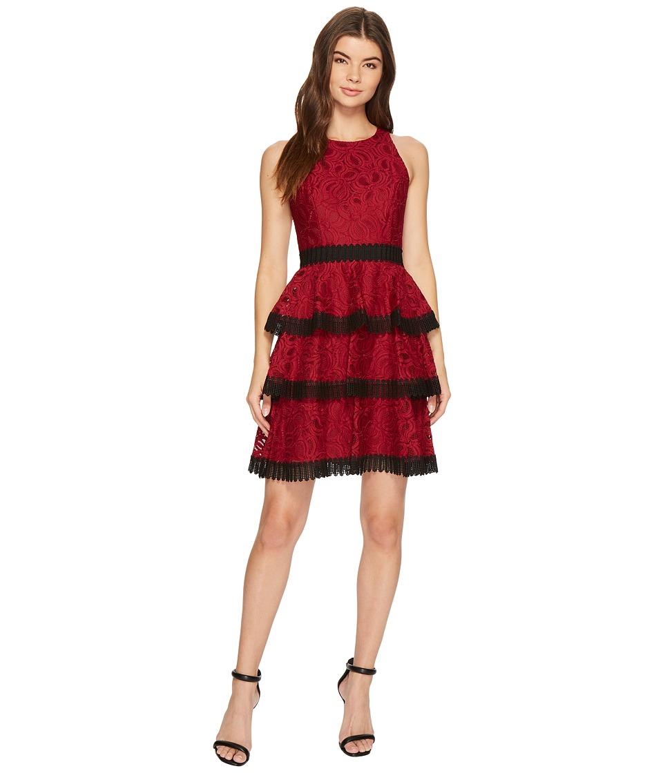 Aidan Mattox - Lace Cocktail Dress
