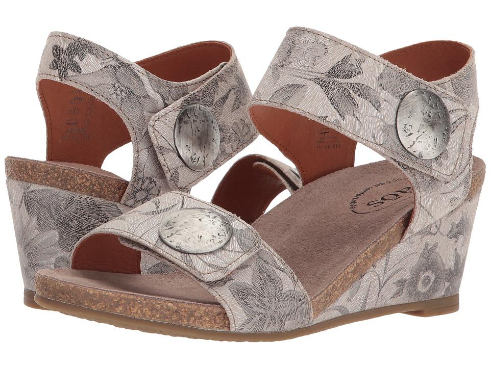 Taos Footwear Carousel 2 (Stone Floral) Women
