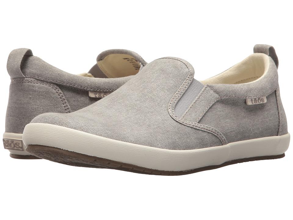 Taos Footwear Dandy (Grey Wash Canvas) Women's Shoes