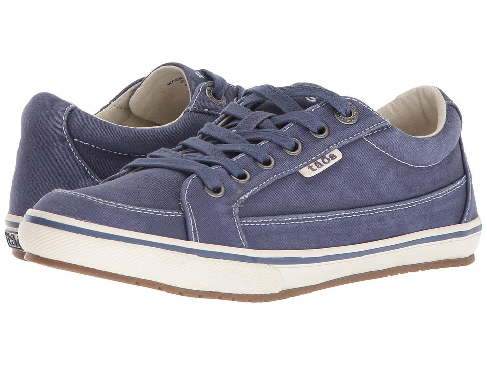 Taos Footwear Moc Star (Indigo Distressed)