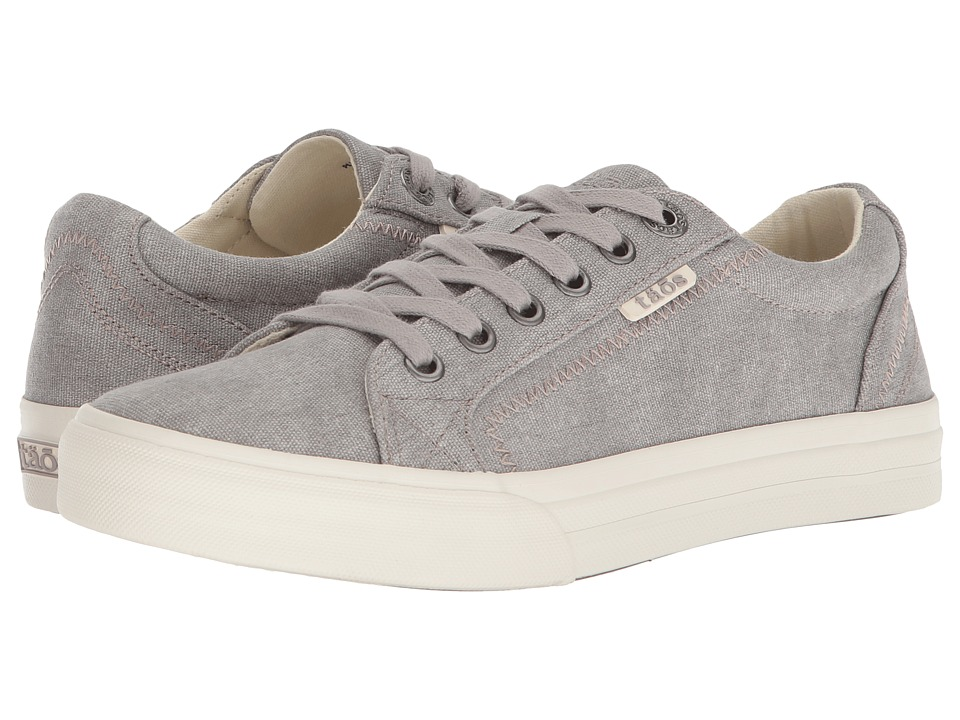 Taos Footwear Plim Soul (Grey Wash Canvas) Women's Shoes