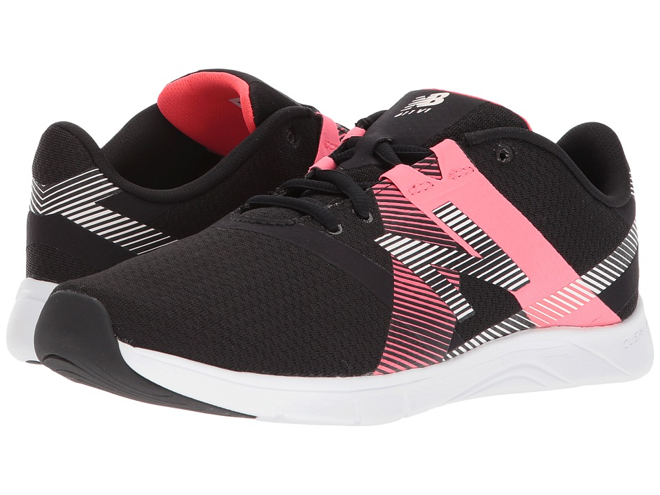 New Balance WX611v1 (Black/Vivid Coral) Women's Cross Training Shoes