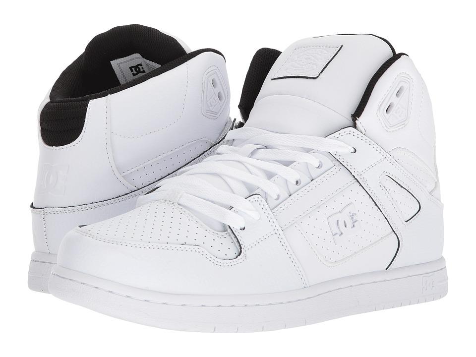 DC Pure High-Top SE (White/Black/White) Men