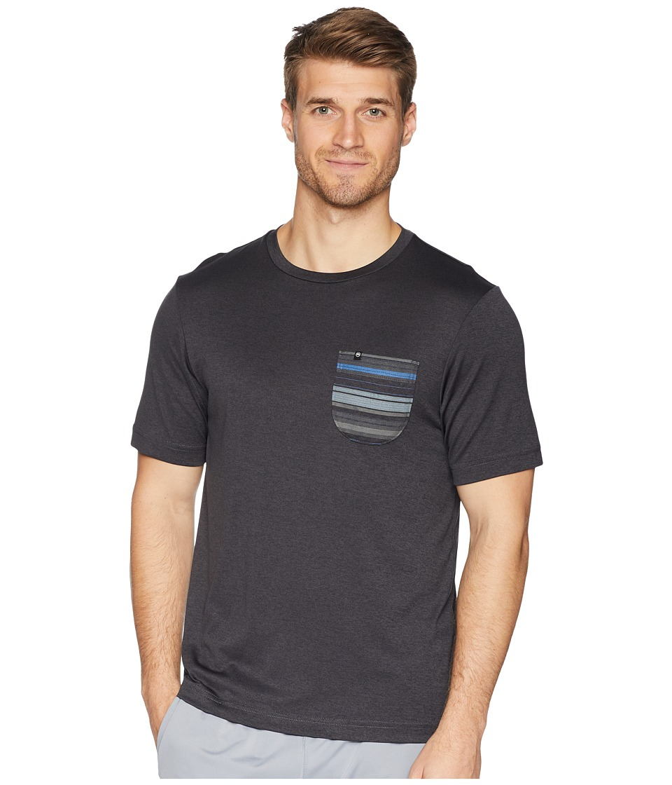 TravisMathew Feeble Fitness Crew (Heather Magnet) Men