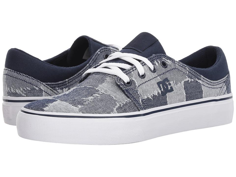 DC Trase TX LE (Blue/Blue/White) Women's Shoes