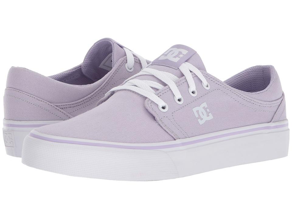 DC Trase TX (Lilac) Women's Skate Shoes