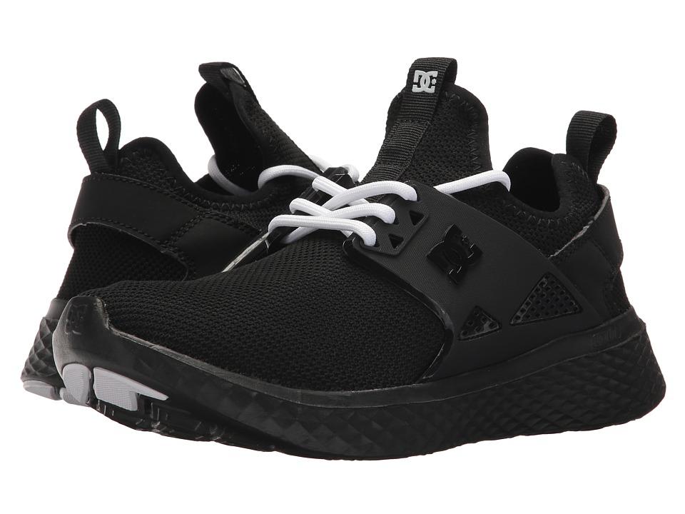 DC Meridian (Black/White) Women's Skate Shoes