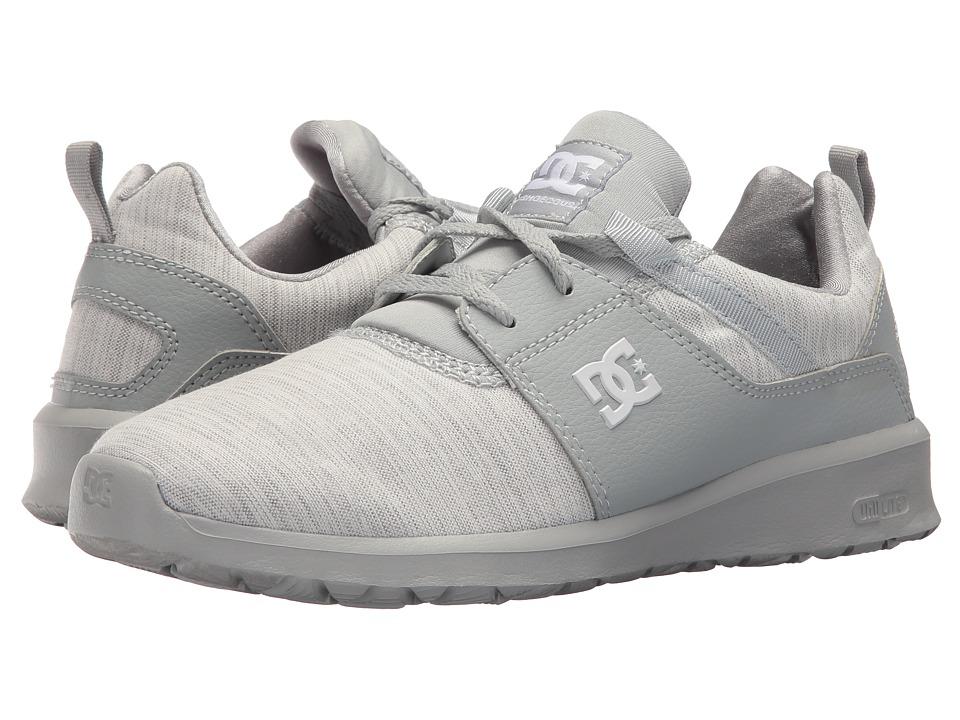 DC Heathrow TX SE (Grey/Grey/Grey) Women's Skate Shoes