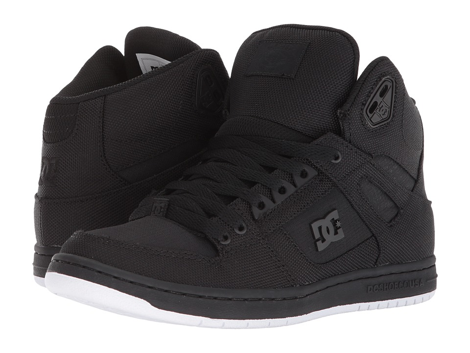 DC Pure High-Top TX SE (Black) Women's Skate Shoes