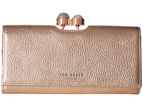 Ted Baker Crystal Pearl Bobble Matinee - Rose Gold