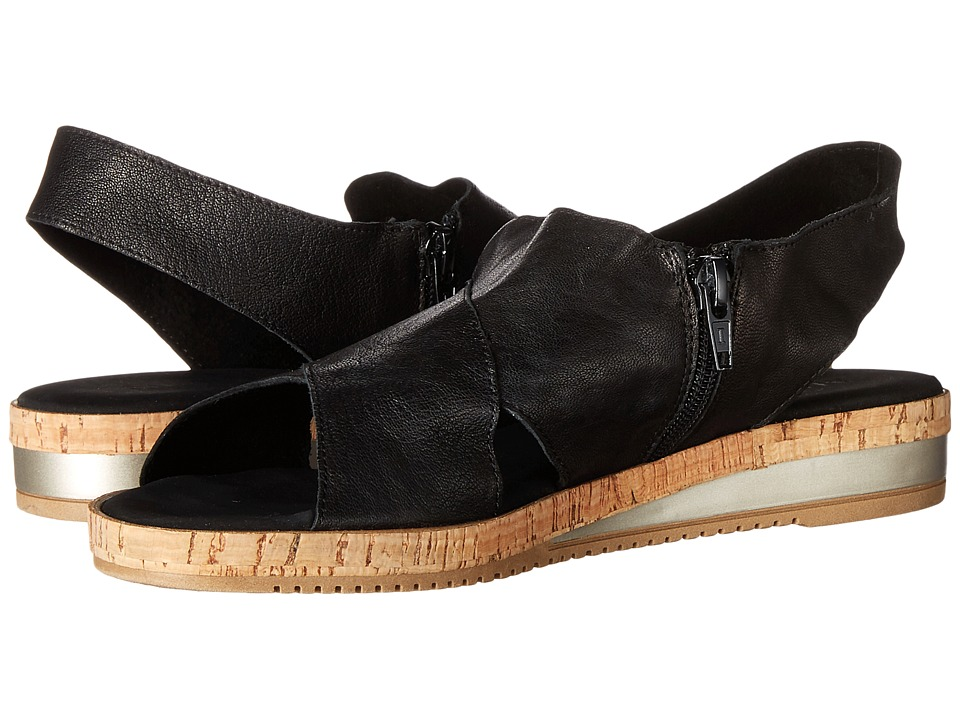 Sesto Meucci Sylke (Black Old West) Sandals