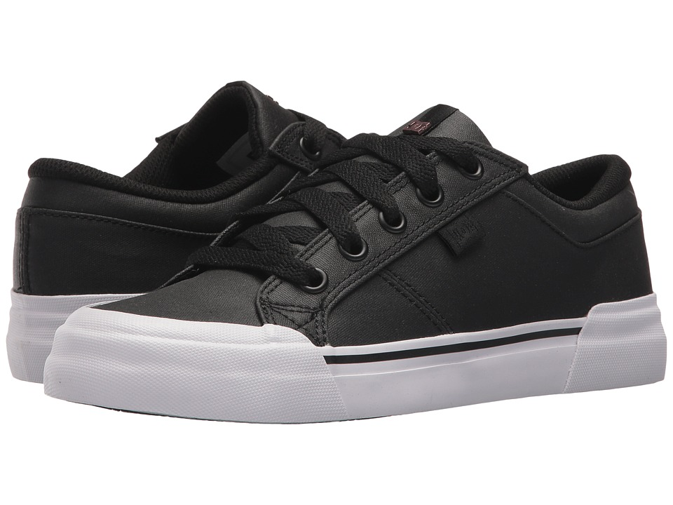 DC Danni SE (Black/Black/White) Women's Skate Shoes