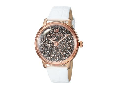 Swarovski Crystalline Hours Watch - White
