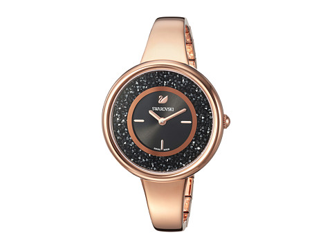 Swarovski Crystalline Pure Watch - Black