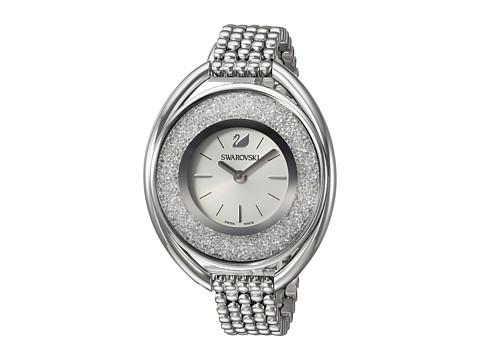 Swarovski Crystalline Oval Watch - White 1
