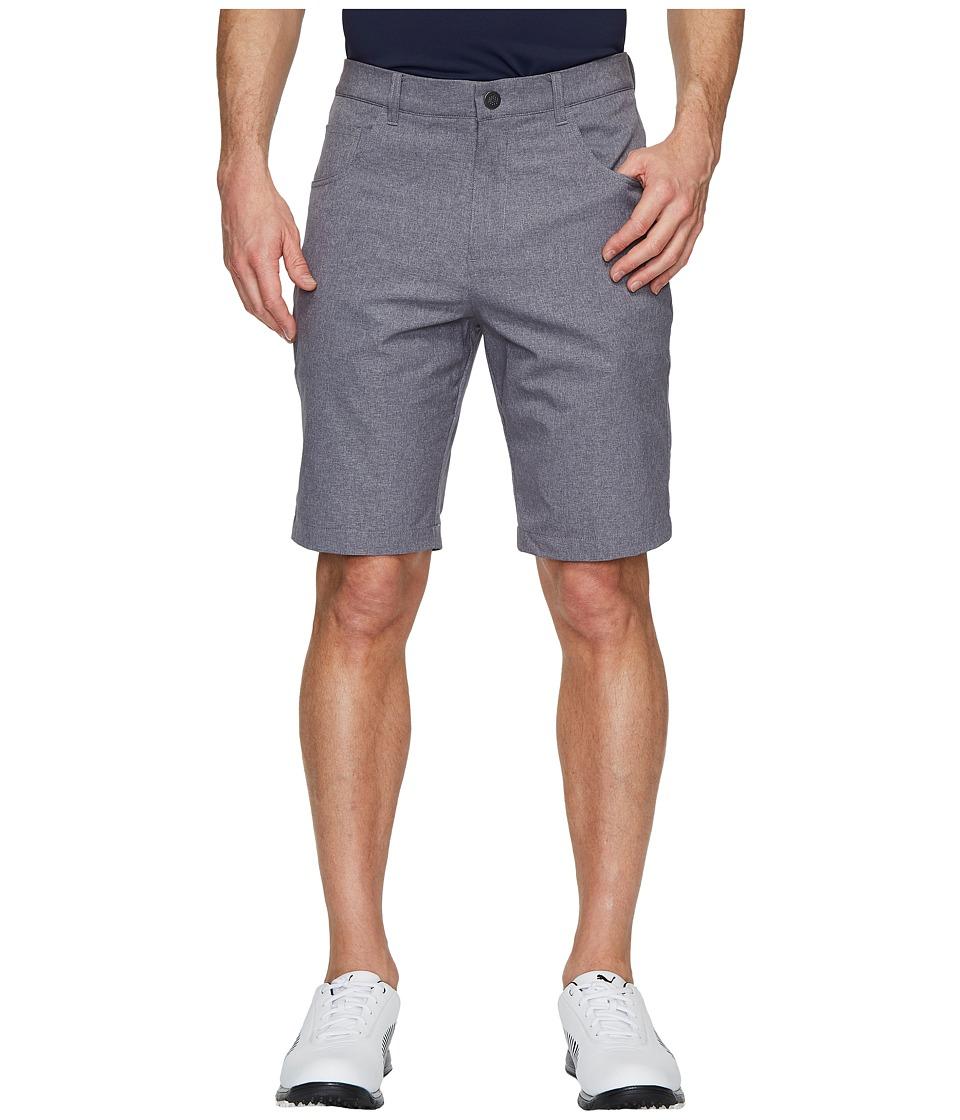 PUMA Golf - Heather Six-Pocket Shorts (Quiet Shade) Mens Shorts