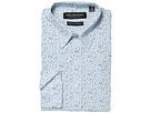 Nick Graham Floral Print CVC Stretch Dress Shirt