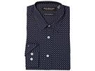 Nick Graham Asterisk Print Stretch Dress Shirt