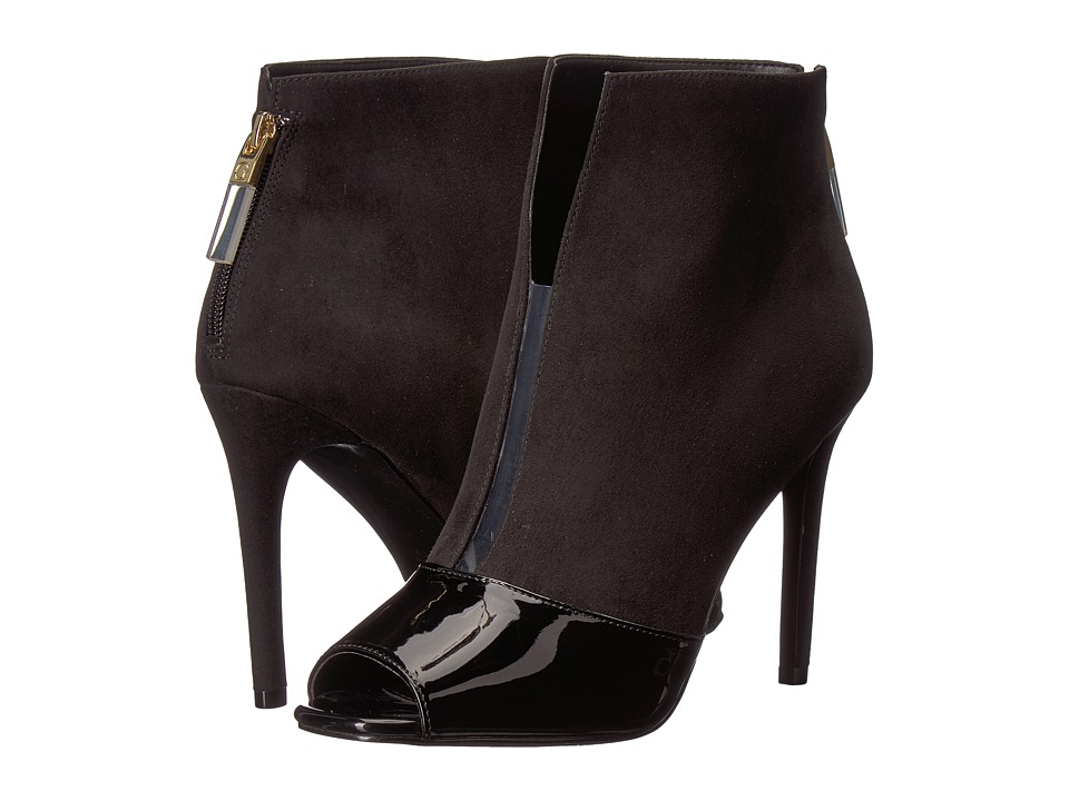 GUESS - Funtime (Black/Black/Clear) High Heels