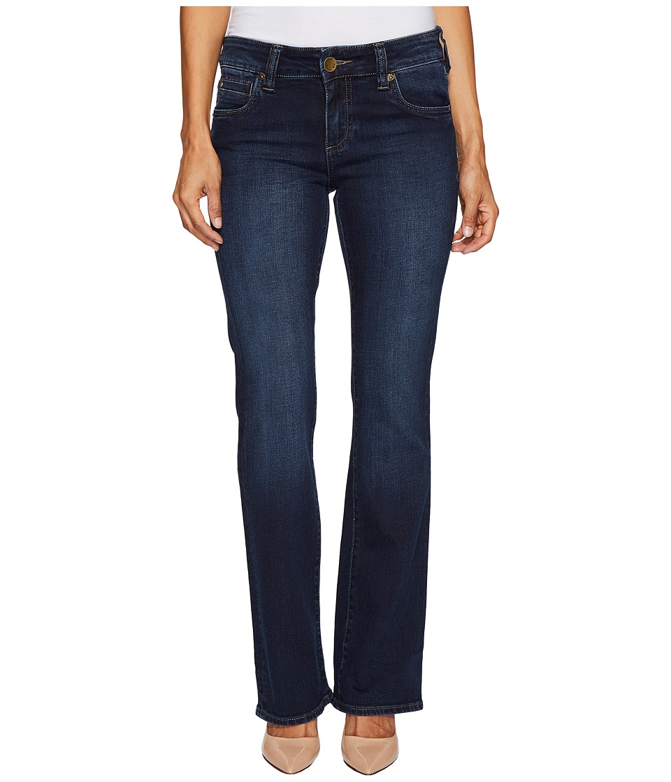 KUT from the Kloth Petite Natalie High-Rise Bootcut in Beneficial/Euro (Beneficial/Euro) Women