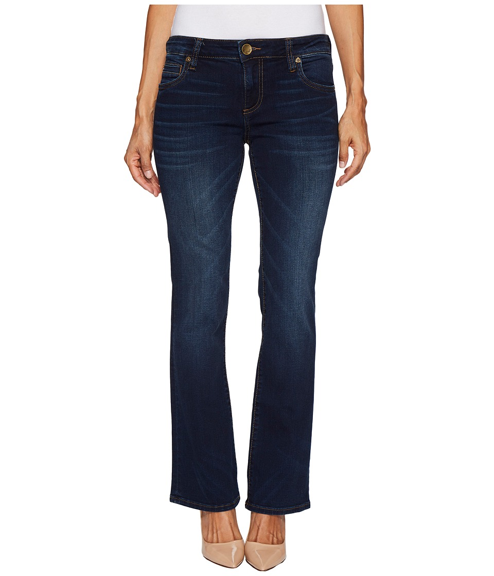 KUT from the Kloth Petite Natalie High-Rise Bootcut in Closeness/Euro (Closeness/Euro) Women
