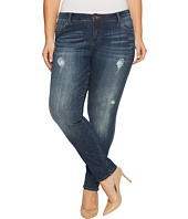 KUT from the Kloth - Plus Size Catherine Boyfriend in Allowing/Dark Stone Base Wash