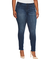 KUT from the Kloth - Plus Size Diana Skinny in Moderation/Dark Stone Base Wash