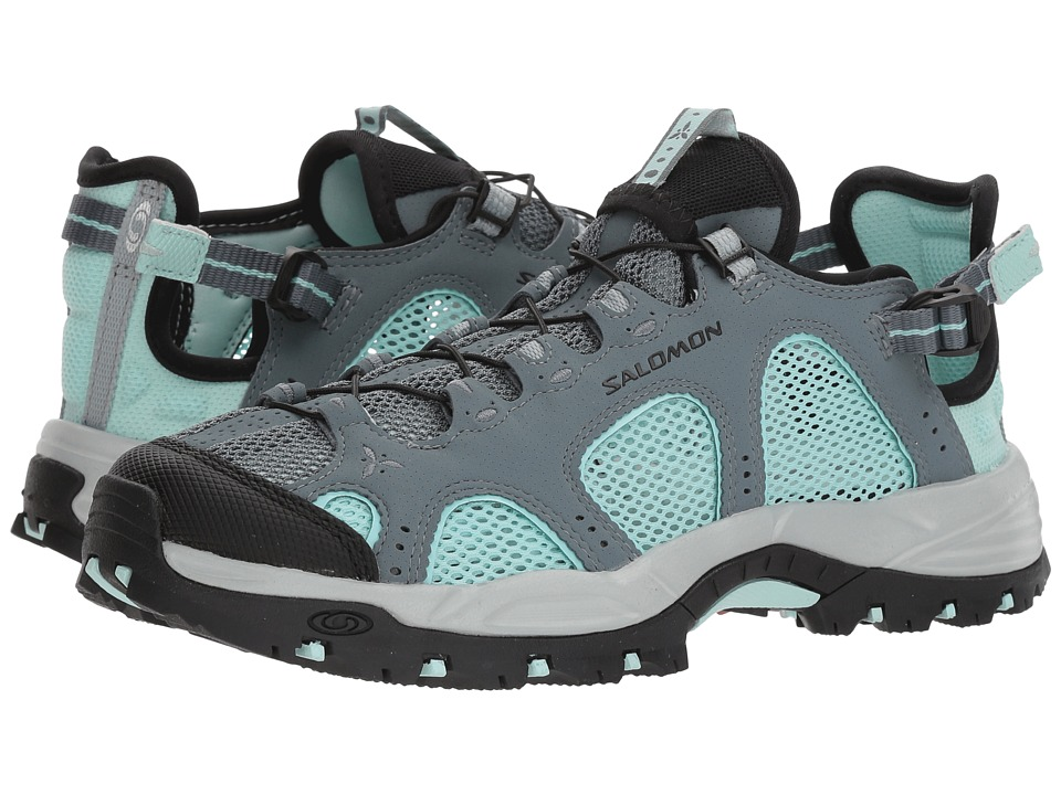 Salomon - Techamphibian 3 (Stormy Weather/Eggshell Blue/Black) Womens Shoes