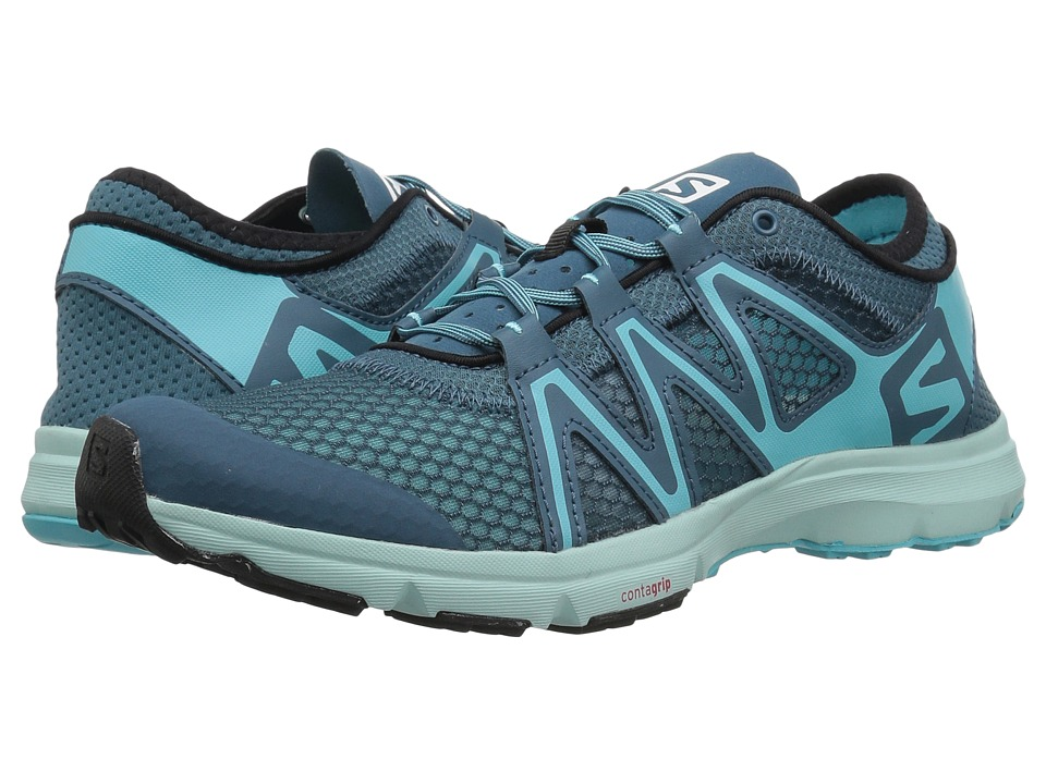Salomon Crossamphibian Swift (Mallard Blue/Blue Curacao/Eggshell Blue) Women's Shoes