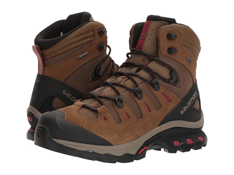 Salomon Quest 4D 3 GTX (Teak/Teak/Tibetan Red) Women's Shoes