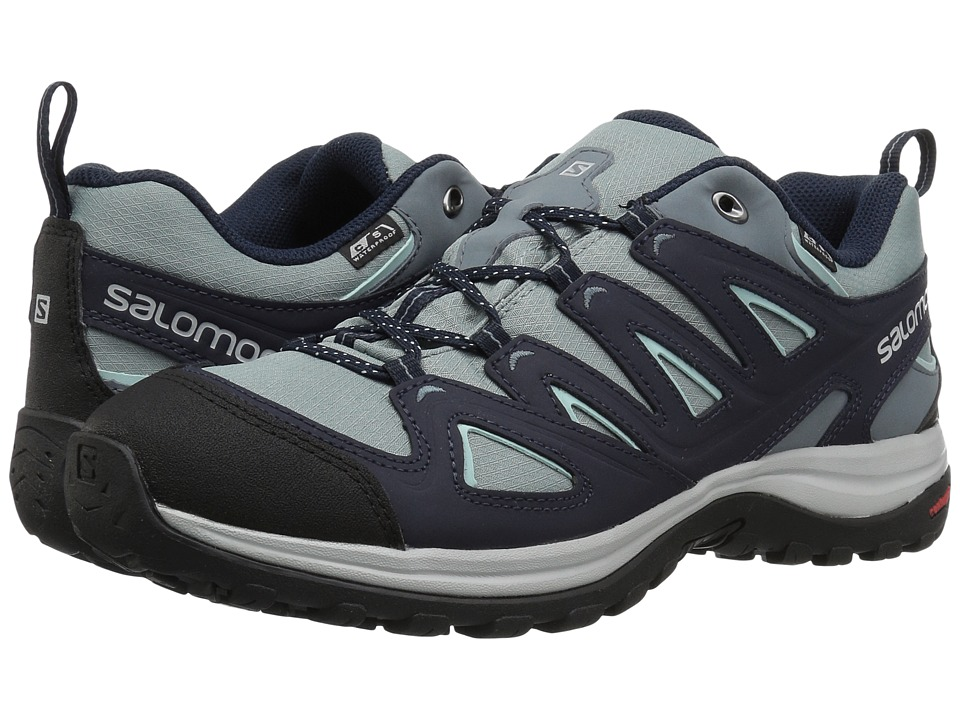 Salomon Ellipse 3 CS WP USA (Lead/Night Sky/Canal Blue) Women's Shoes
