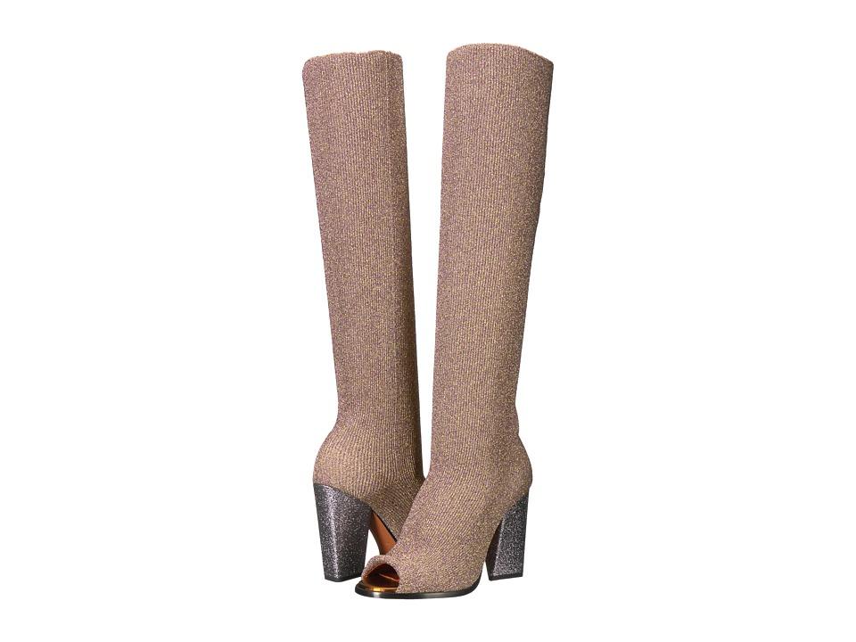 Missoni Tronchetto Slouch Boot (Lurex Oro) Women