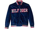 Tommy Hilfiger Kids Velour Track Jacket (Big Kids)