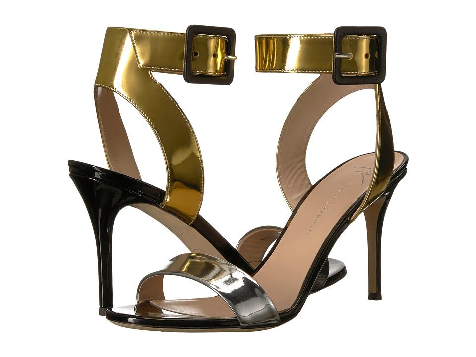 Giuseppe Zanotti - E800026 (Shooting Argento) Women's Shoes