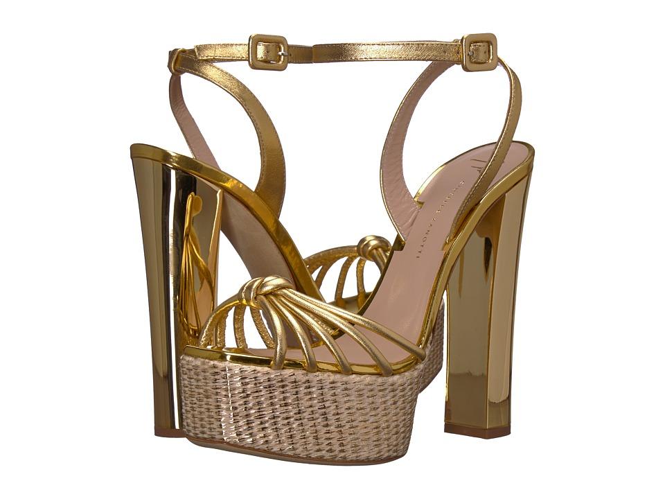 Giuseppe Zanotti E800018 (Metal Mekong) Women's Shoes