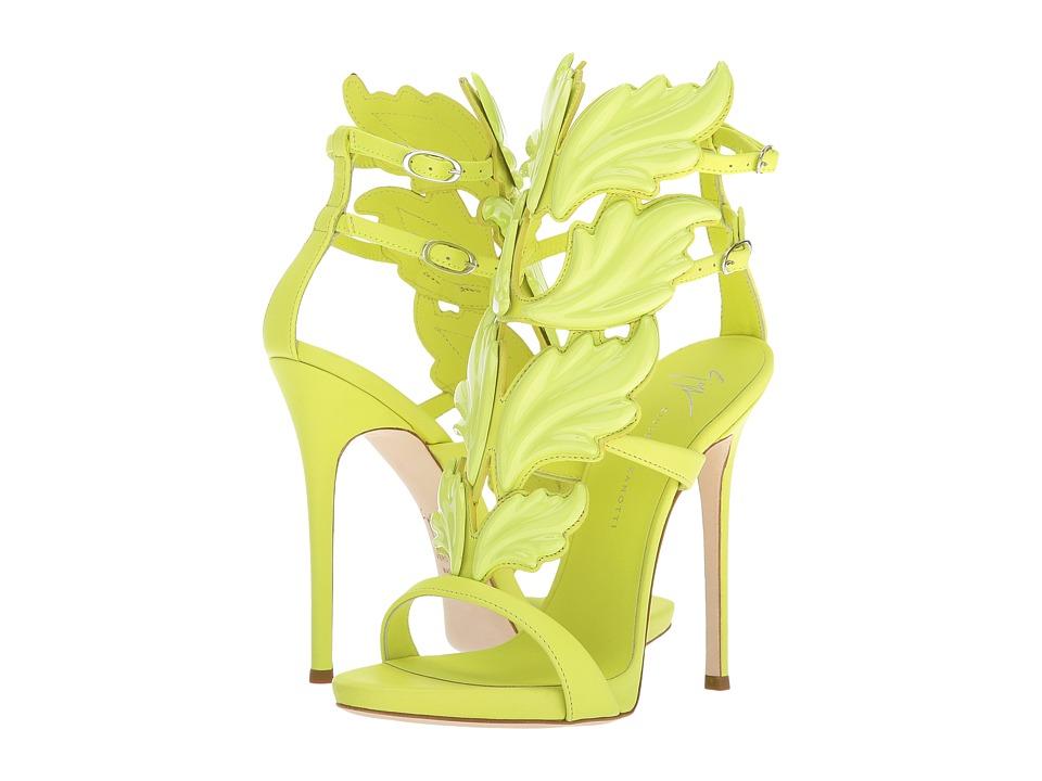 Giuseppe ZanottiI700011  (Birel Fluo Giallo) Womens Shoes
