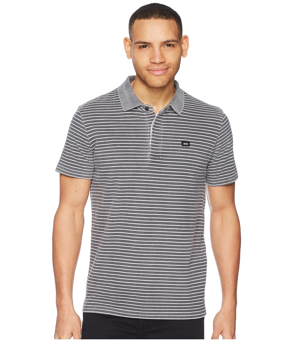 Globe - Danger Polo (Lead Stripe) Mens T Shirt