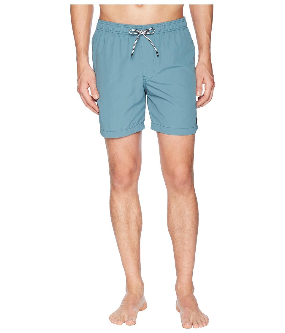 Globe - Dana V 16.5 Poolshorts (Arbor Green) Mens Swimwear