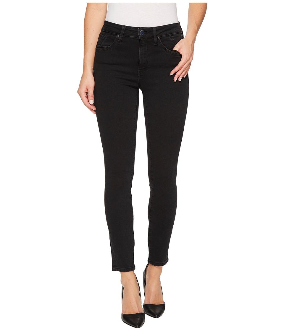 Mavi Jeans Tess High-Rise Super Skinny Ankle in Dark Smoke Indigo Move (Dark Smoke Indigo Move) Women