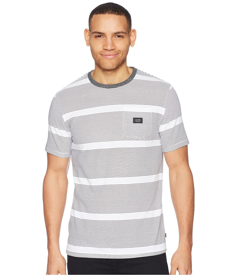 Globe - Moonshine Pocket Tee (Black Stripe) Mens T Shirt